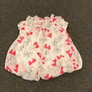 Nursery rhyme bow Bubble dress